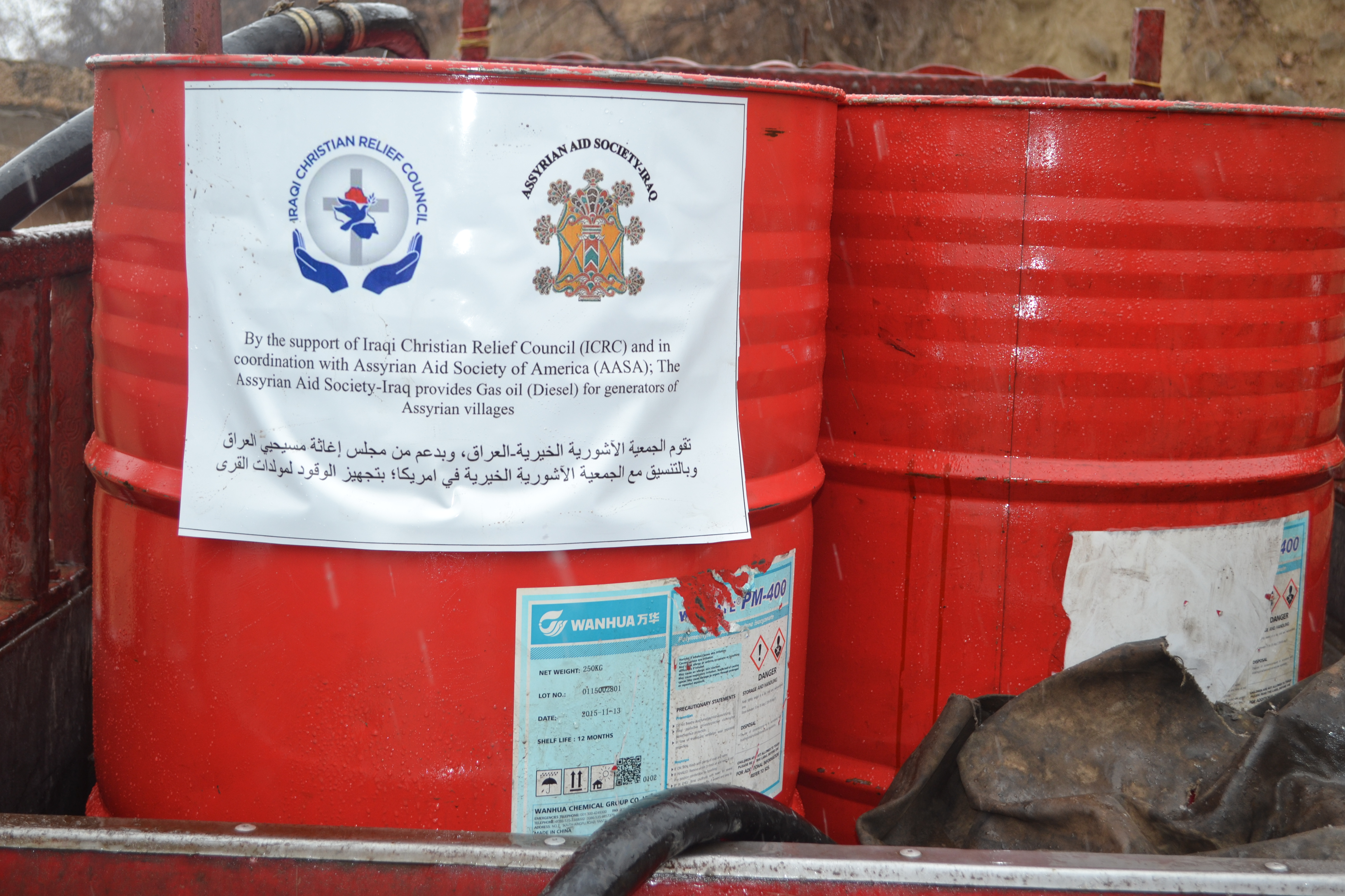 AAS Iraq supplies Gas Oil Diesel for generators of our people s