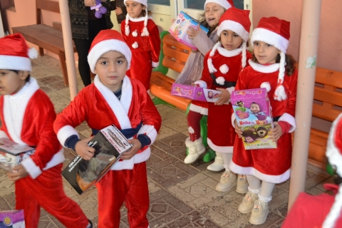Hearts Of Christmas.Aas Iraq Brings Happiness To The Hearts Of Our Children On